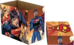 DC COMICS SUPERMAN FLYING 5 PK SHORT COMIC BOX