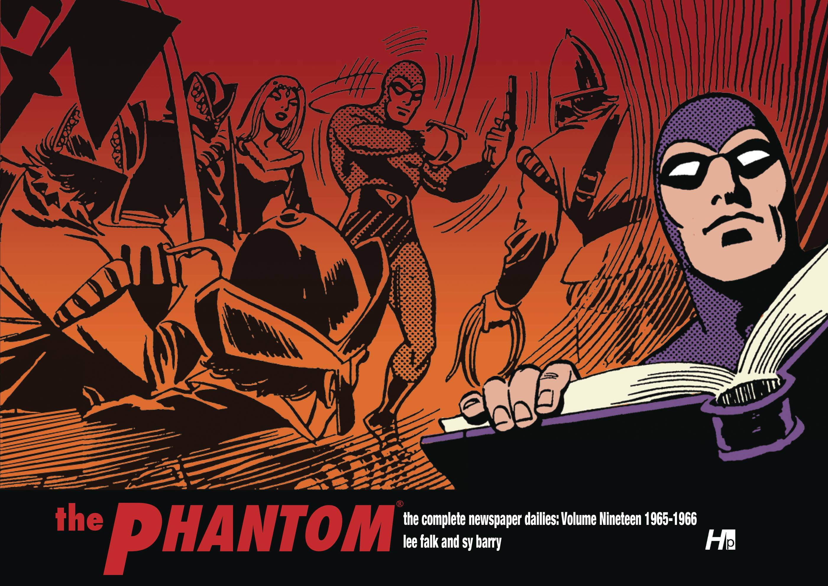 PHANTOM COMP DAILIES HC 19 1964-1966