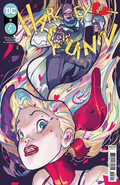 DF HARLEY QUINN #3 PHILLIPS SGN