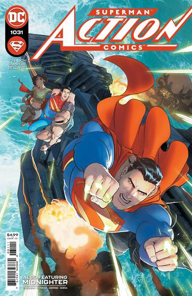 DF ACTION COMICS #1031 KENNEDY JOHNSON SGN