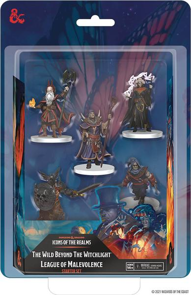 D&D ICONS REALMS MINIS BEYOND WITCHLIGHT MALEVOLENCE SET