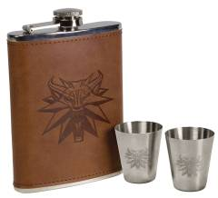 WITCHER DELUXE FLASK SET