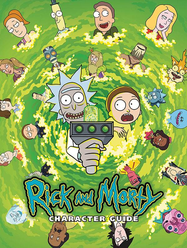 RICK & MORTY CHARACTER GUIDE HC