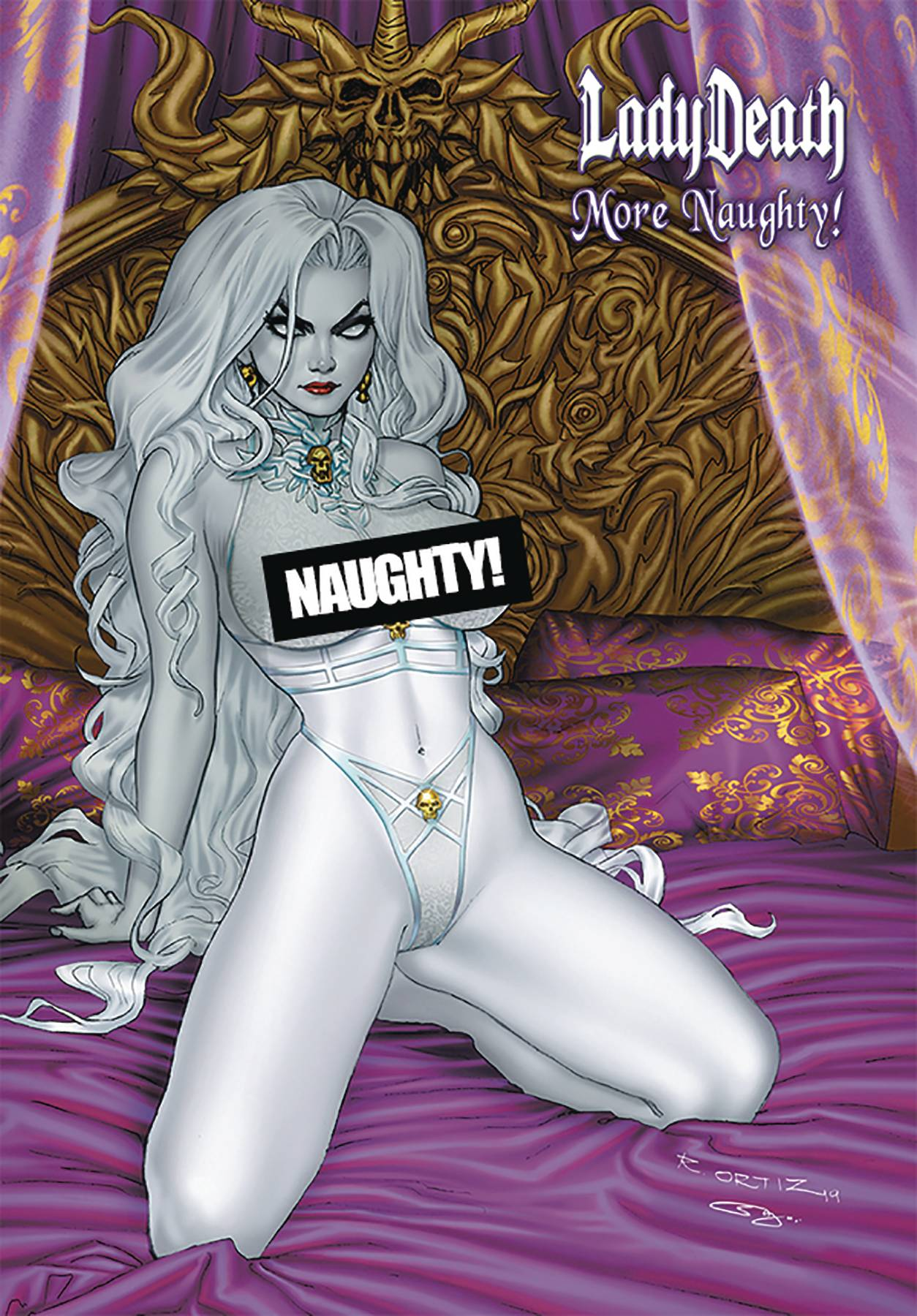 LADY DEATH MORE NAUGHTY ARTBOOK HC