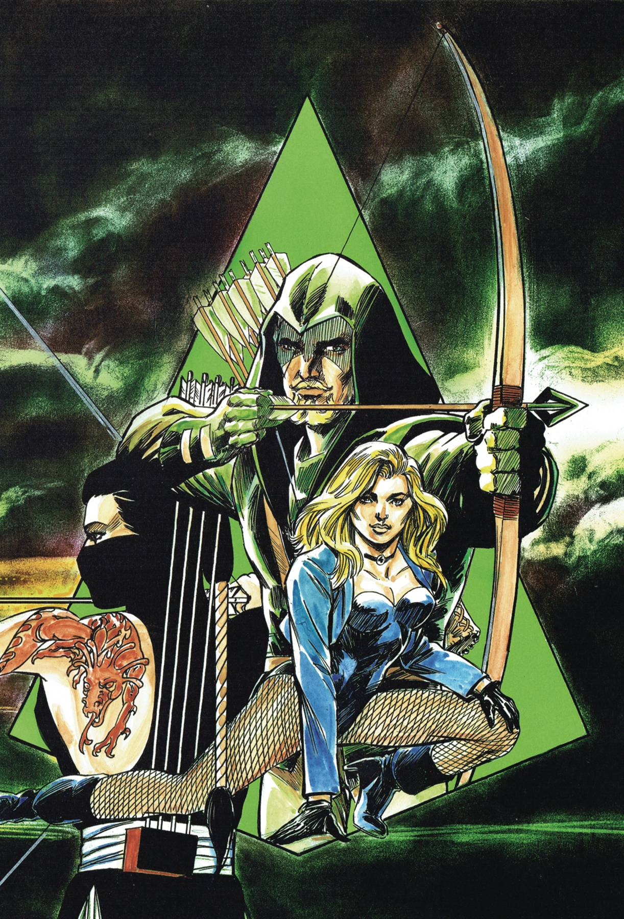 GREEN ARROW THE LONGBOW HUNTERS SAGA OMNIBUS HC 01