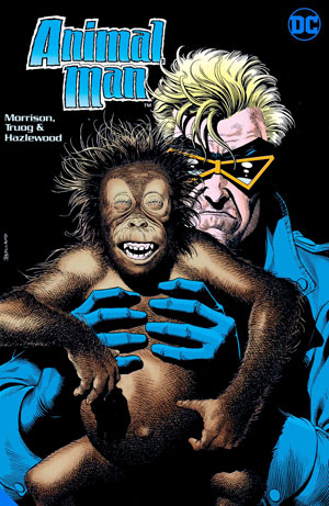 ANIMAL MAN BY GRANT MORRISON HC 02
