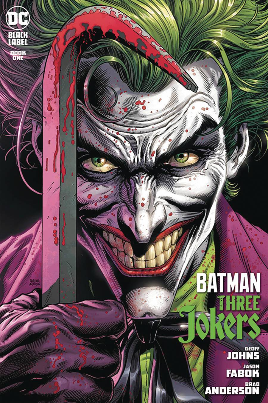 DF BATMAN THREE JOKERS #1 JOHNS SGN