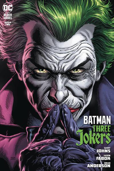 DF BATMAN THREE JOKERS #2 JOHNS SGN