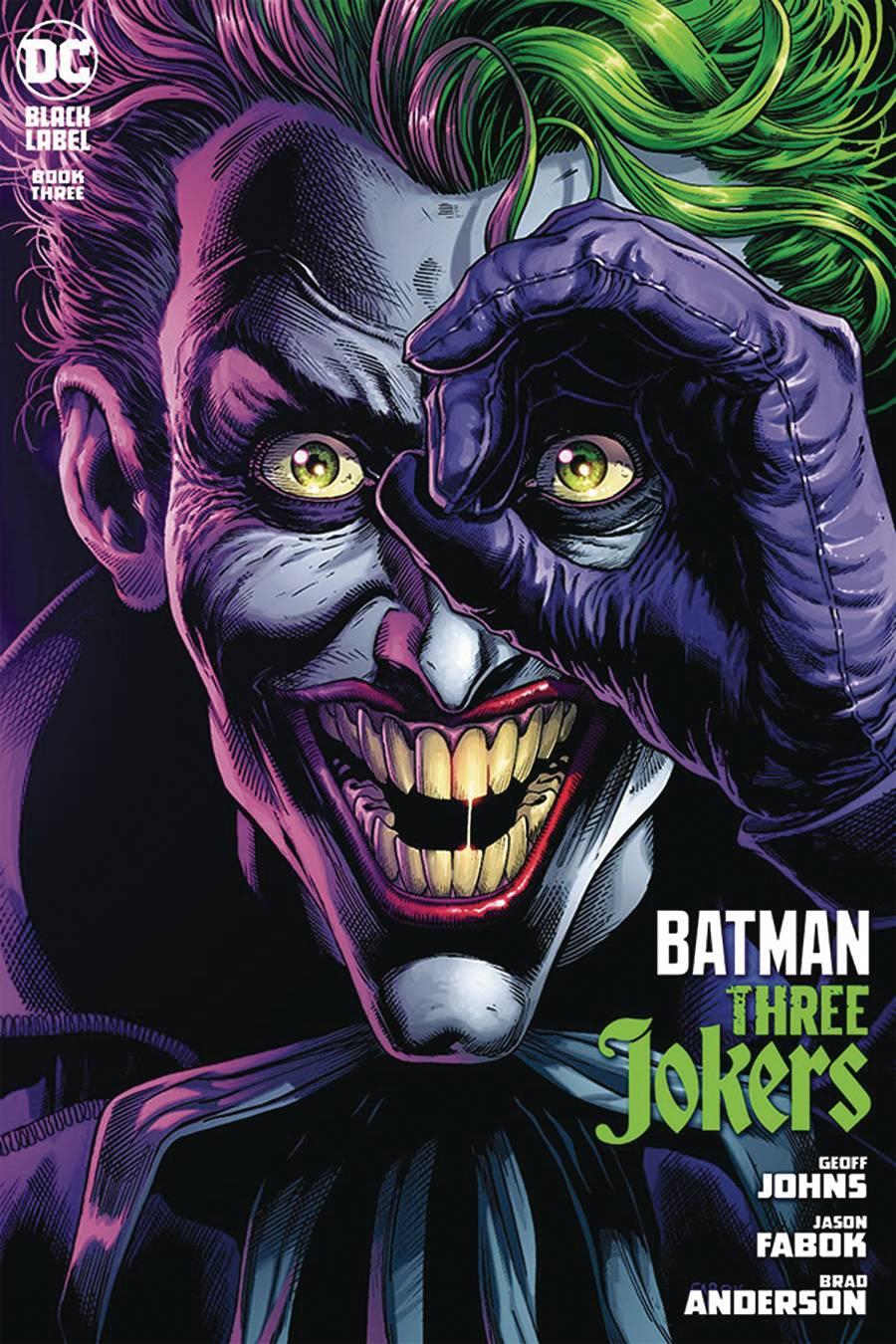 DF BATMAN THREE JOKERS #3 JOHNS SGN