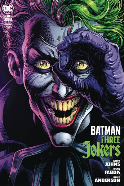 DF BATMAN THREE JOKERS #3 FABOK SGN