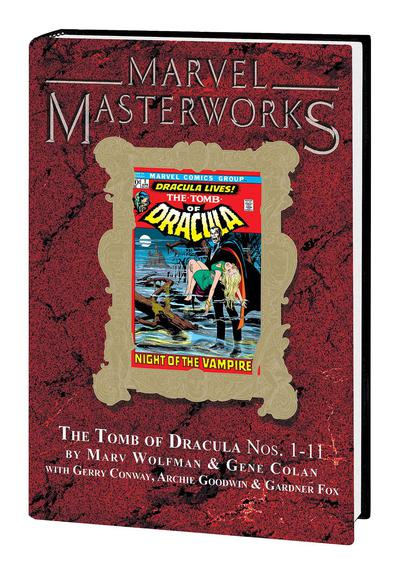 MARVEL MASTERWORKS TOMB DRACULA HC 01