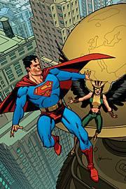 Superman appears