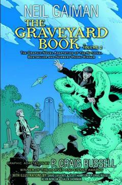 NEIL GAIMAN GRAVEYARD BOOK HC 02