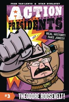 ACTION PRESIDENTS COLOR HC 03 THEODORE ROOSEVELT