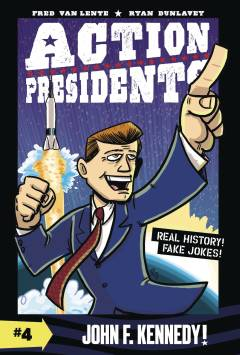 ACTION PRESIDENTS COLOR HC 04 JOHN F KENNEDY