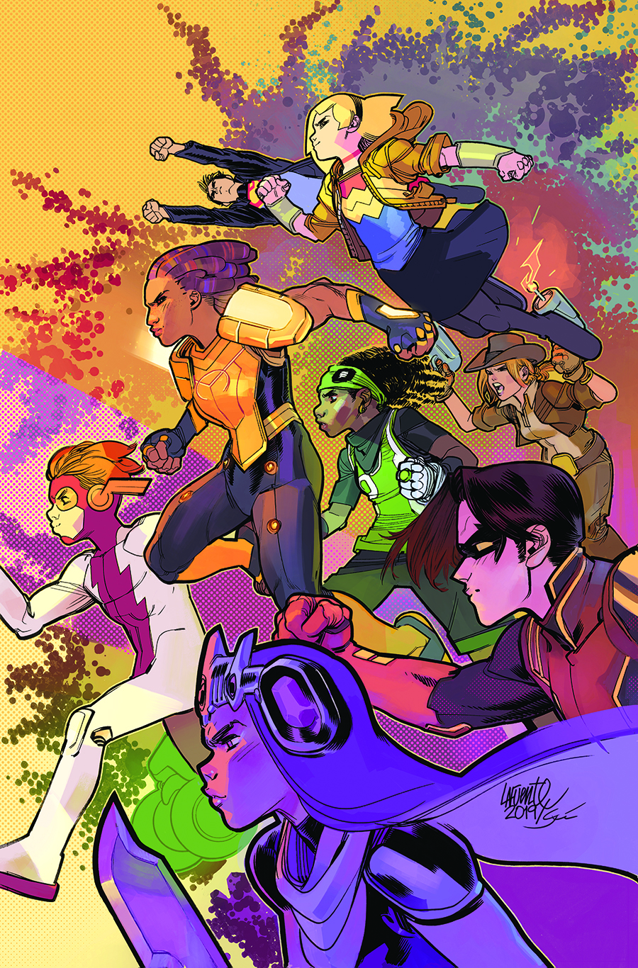 YOUNG JUSTICE TP 03 WARRIORS AND WARLORDS
