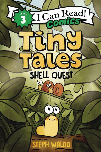 I CAN READ COMICS LEVEL 3 HC TINY TALES SHELL QUEST