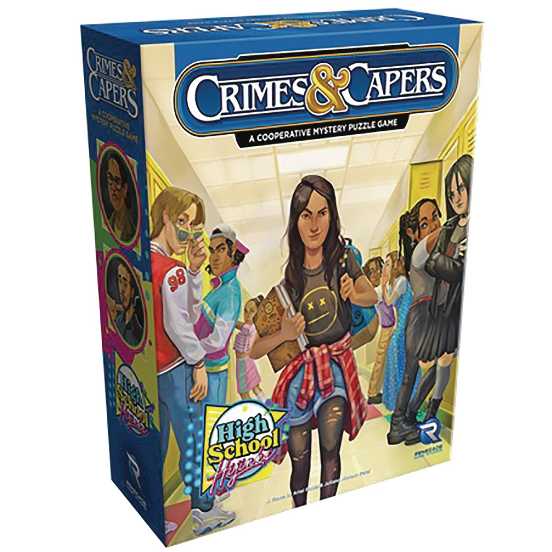 CRIMES & CAPERS HIGH SCHOOL HIJINKS BOARD GAME