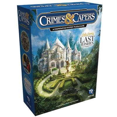 CRIMES & CAPERS LADY LEONAS LAST WISHES BOARD GAME