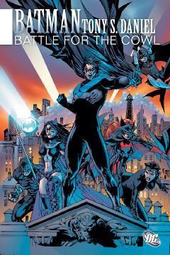 BATMAN BATTLE FOR THE COWL HC