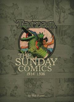 BURROUGHS TARZAN SUNDAY COMICS 1933-1935 HC 02