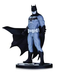 BATMAN BLACK & WHITE STATUE BY JASON FABOK