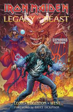IRON MAIDEN LEGACY OF THE BEAST EXPANDED ED TP 01