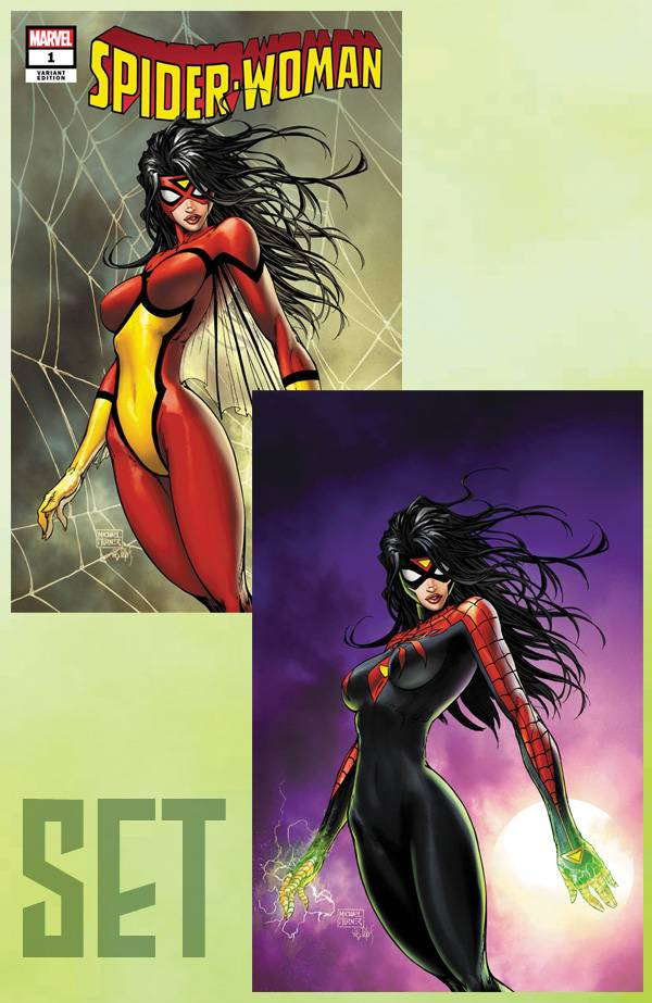 SPIDER-WOMAN CVR A & B SET