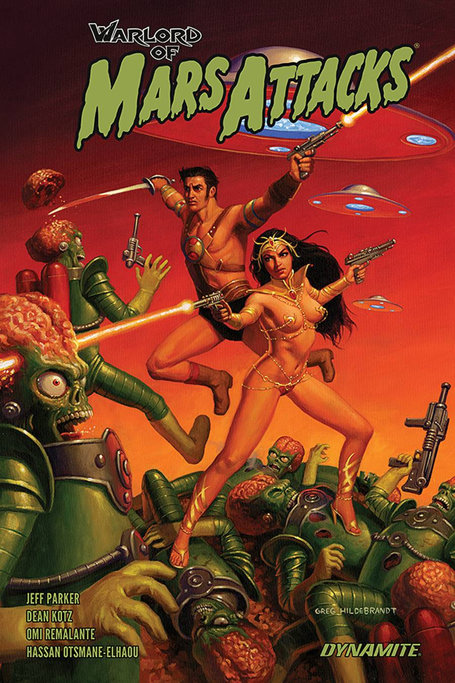 WARLORD OF MARS ATTACKS TP