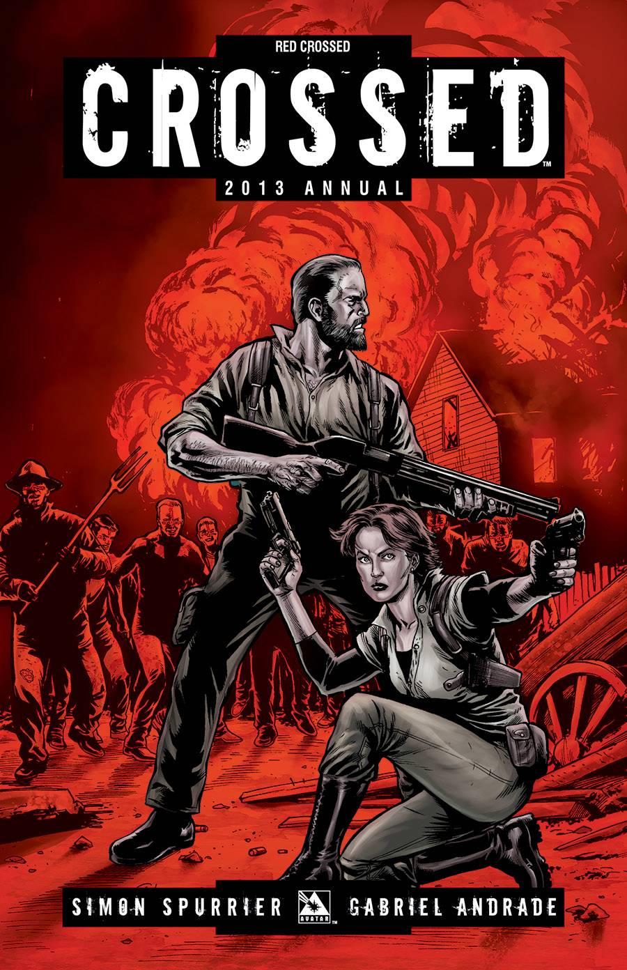 CROSSED ANNUAL 2013 RED CROSSED VAR