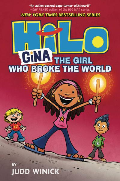 HILO HC 07 GINA  GIRL WHO BROKE THE WORLD