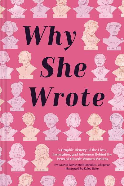 WHY SHE WROTE TP GRAPHIC HISTORY OF CLASSIC WOMEN WRITERS