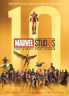 MARVEL STUDIOS FIRST 10 YEARS HC 2ND ED