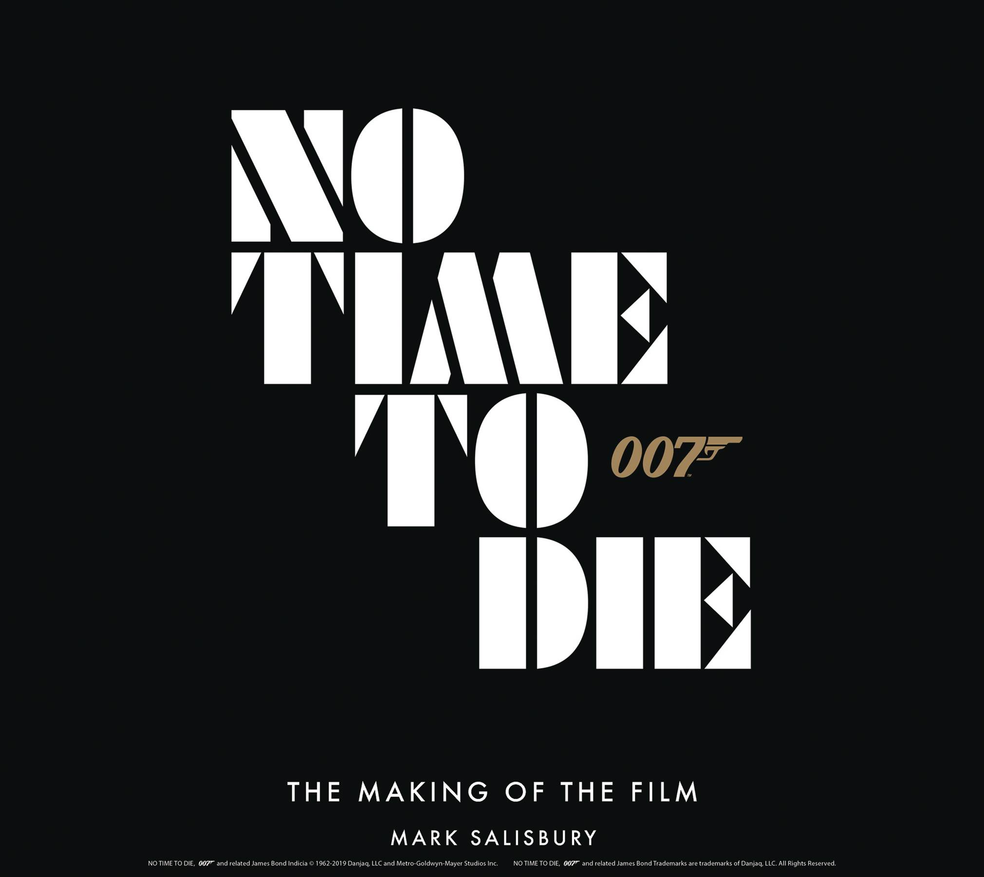 JAMES BOND NO TIME TO DIE MAKING OF THE FILM HC