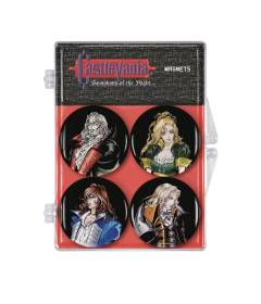 CASTLEVANIA SYMPHONY OF THE NIGHT 4 PACK MAGNET SET