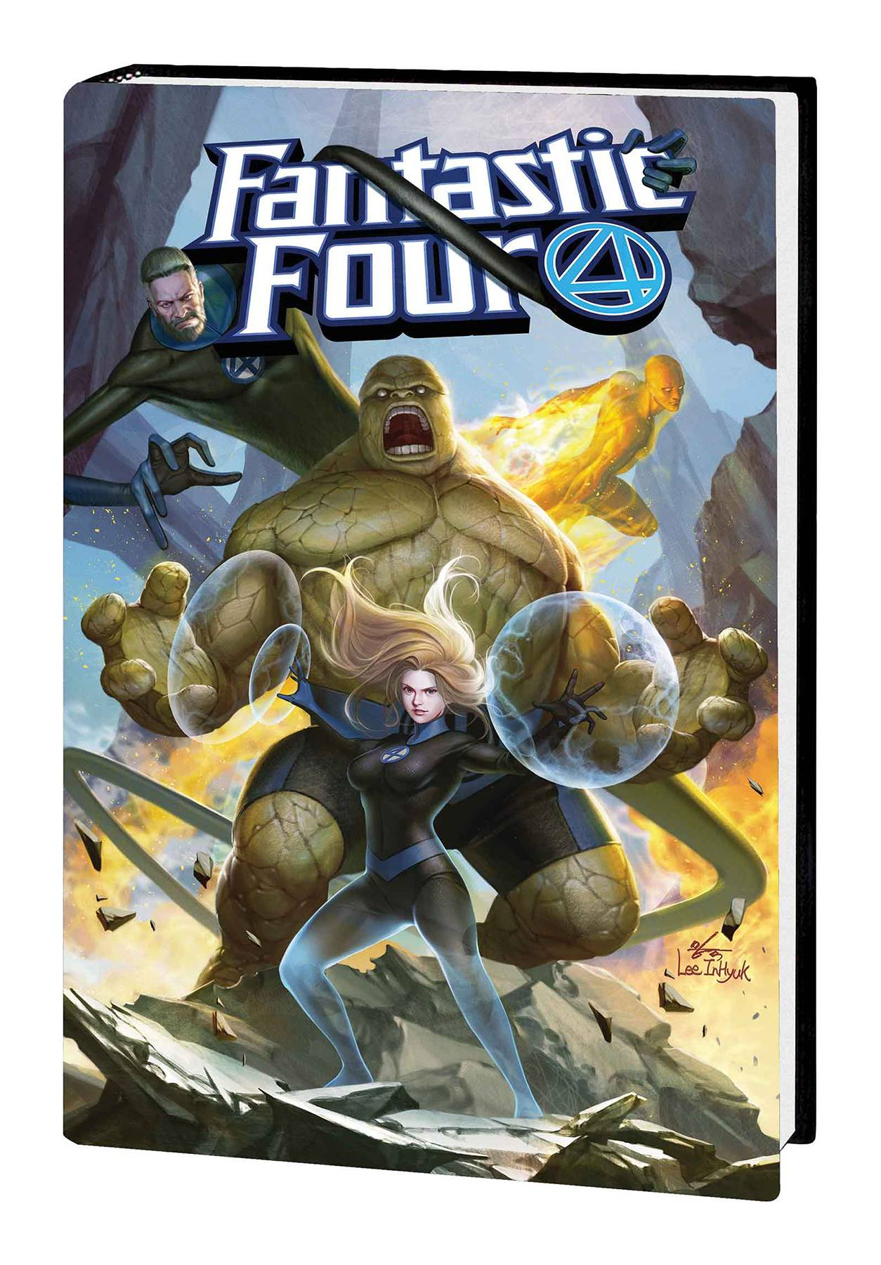 FANTASTIC FOUR BY DAN SLOTT HC 01