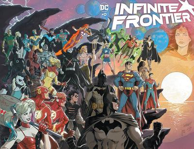 DF INFINITE FRONTIER #1 TYNION IV SGN