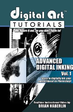 DIGITAL ART TUTORIALS ADVANCED DIGITAL INKING CDROM VOL 01