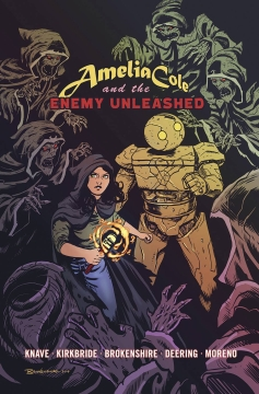AMELIA COLE AND THE ENEMY UNLEASHED GN