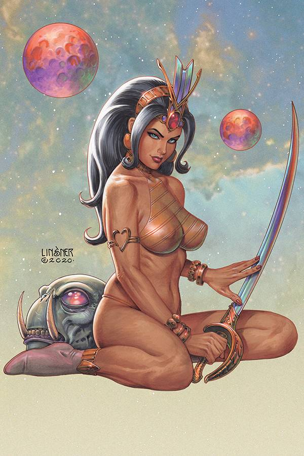 DEJAH THORIS (2019) LINSNER LTD VIRGIN CVR