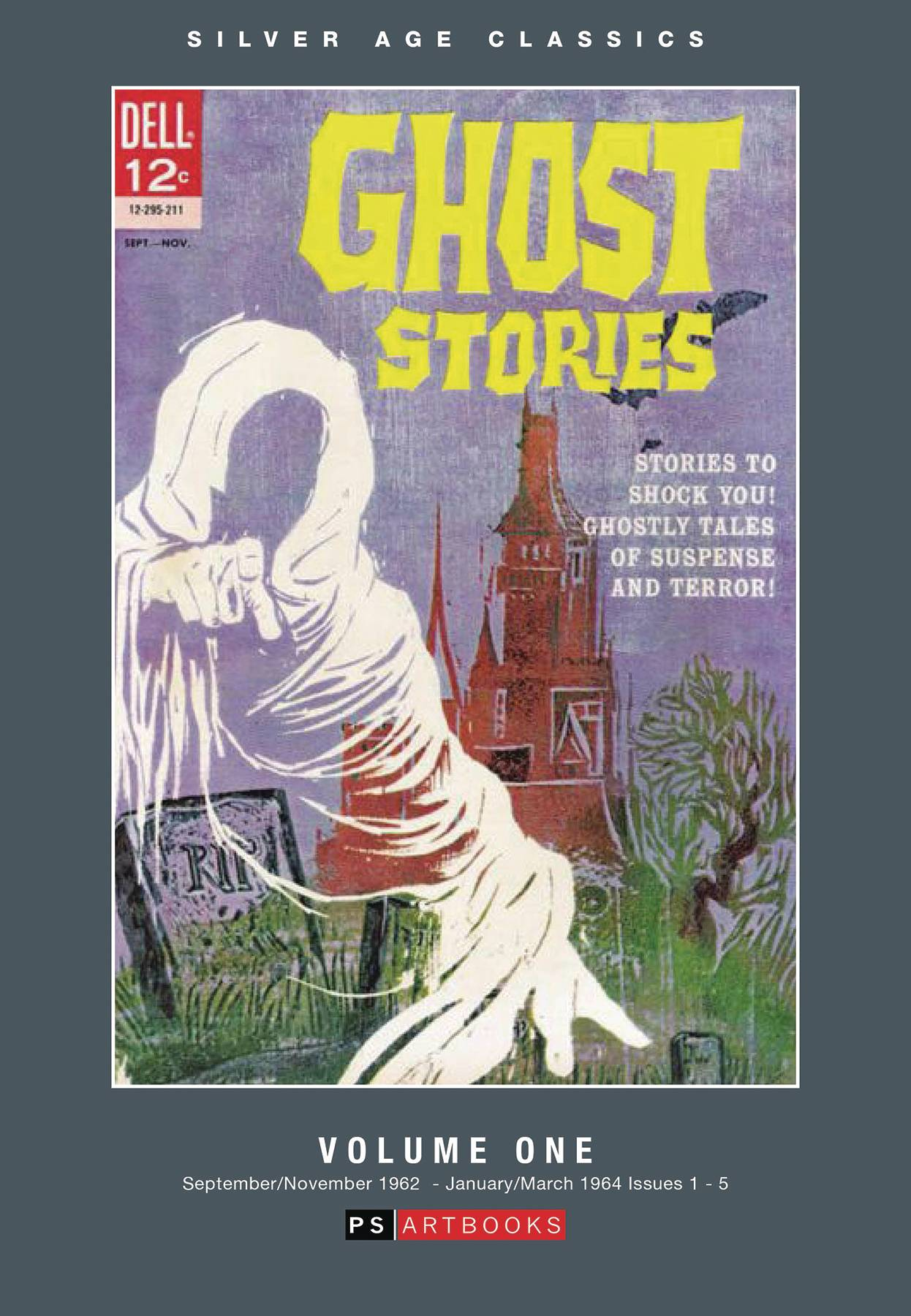 SILVER AGE CLASSICS GHOST STORIES HC 01