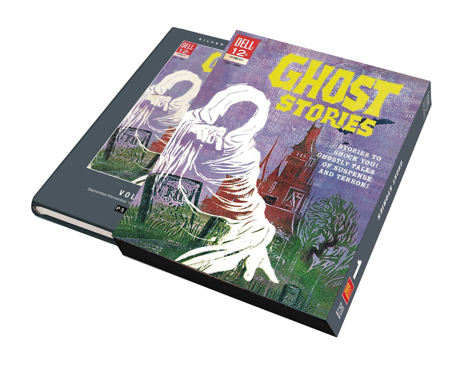 SILVER AGE CLASSICS GHOST STORIES HC 01 SLIPCASE ED