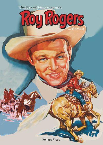 BEST OF JOHN BUSCEMA ROY ROGERS COMICS HC