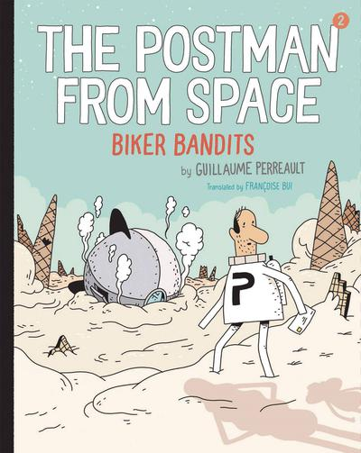 POSTMAN FROM SPACE YR HC 01 BIKER BANDITS