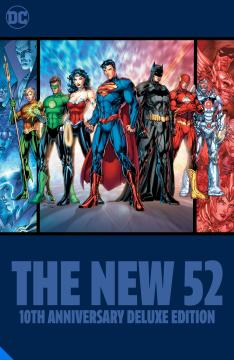 NEW 52 10TH ANNIVERSARY DELUXE EDITION HC