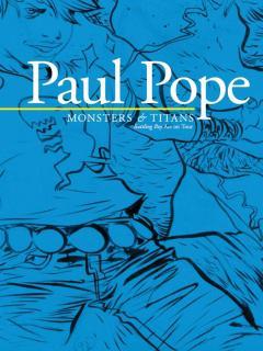 PAUL POPE MONSTERS & TITANS BATTLING BOY ART ON TOUR SC
