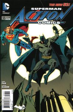 ACTION COMICS II (1-52)