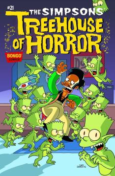 BART SIMPSONS TREEHOUSE OF HORROR