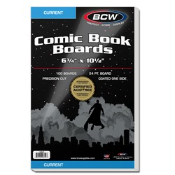 BACKING BOARDS CURRENT BCW