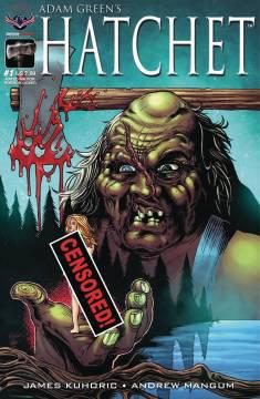 HATCHET RATED MR FOR HORROR LTD ED CVR